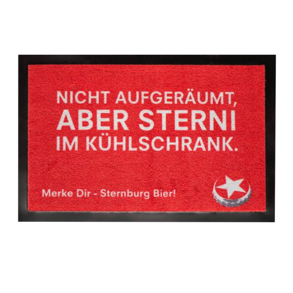"""Sternburg Fußmatte """"Nicht aufgeräumt"""""""